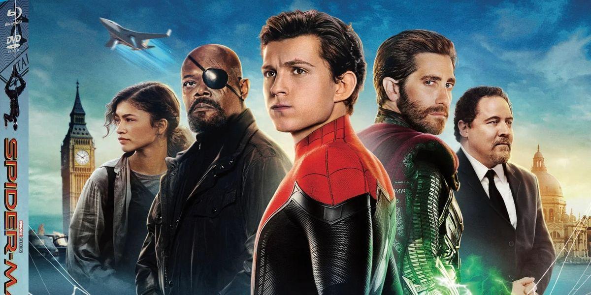 تاریخ انتشار نسخه بلوری فیلم Spider-Man: Far From Home