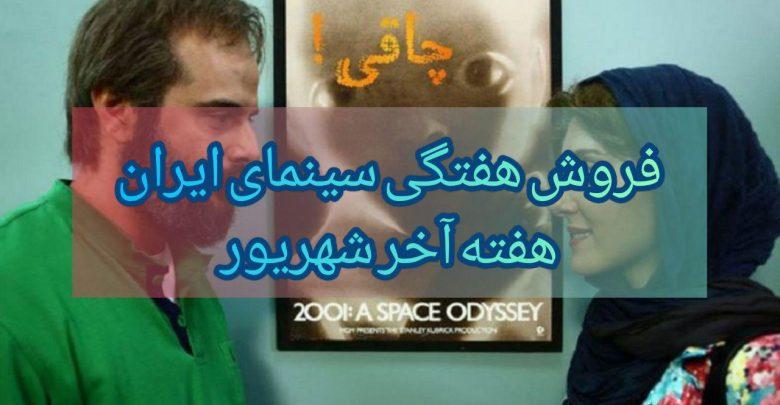 Photo of گزارش فروش سینمای ایران؛ ایده اصلی در صدر و چاقی نمیفروشد !