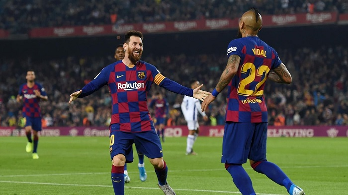بارسلونا مقابل رئال وایادولید