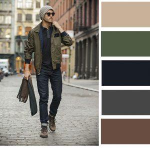 بهترین رنگ های پاییزی لباس مردانه