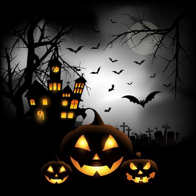 کدو هالووین ترسناک