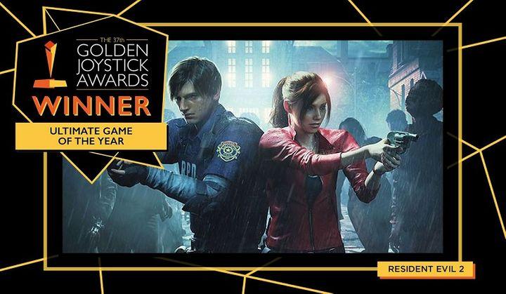 Resident Evil 2 بهترین بازی رویداد Golden Joystick Awards 2019