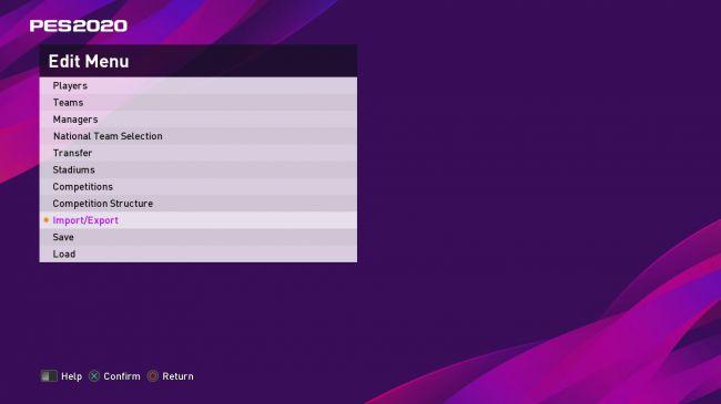 آموزش نصب آپشن فایل - Option File در بازی PES 2020