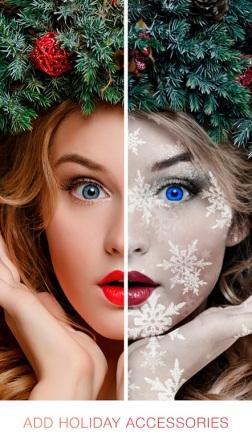 تبدیل عکس به عکس کریسمس