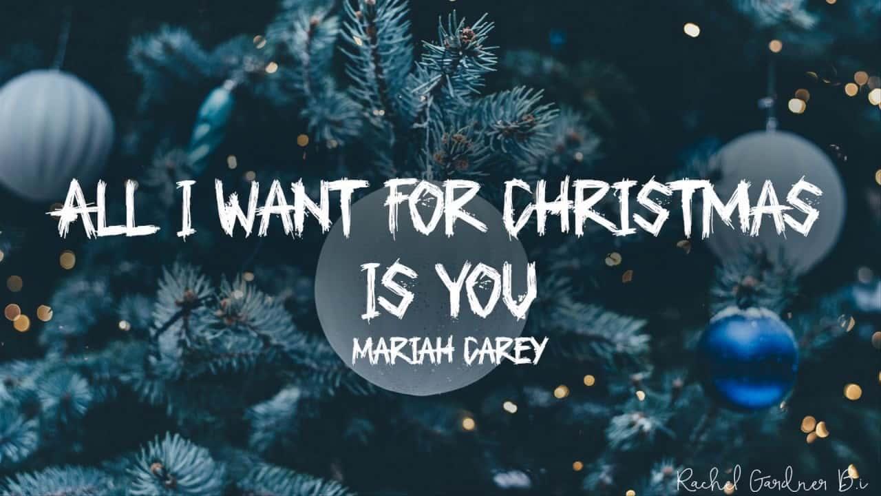 متن و ترجمه آهنگ All I Want for Christmas Is You از Mariah Carey