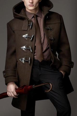 مدل پالتو مردانه بلند ساده