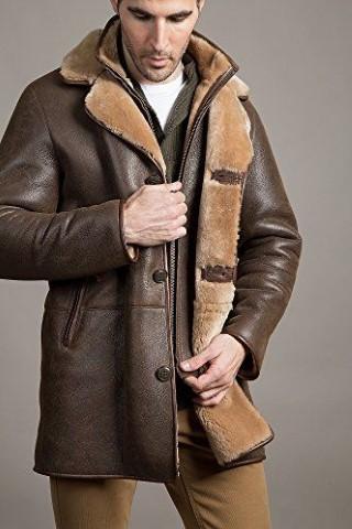 مدل پالتو چرم مردانه بلند