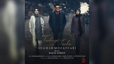 تصویر متن آهنگ تنهای تنها شهاب مظفری – Tanhaye Tanha + کلیپ آهنگ