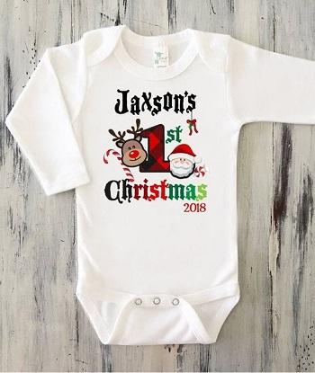 مدل لباس نوزاد کریسمس