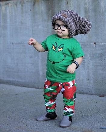 مدل لباس اسپورت بچگانه کریسمس