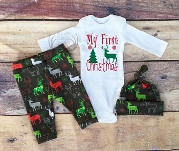 لباس کریسمس نوزادی