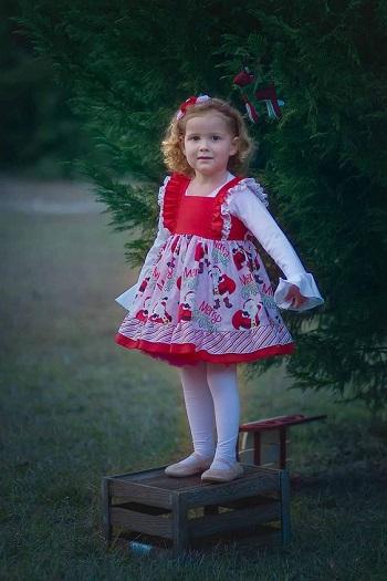 مدل لباس دختربچه برای جشن سال نو