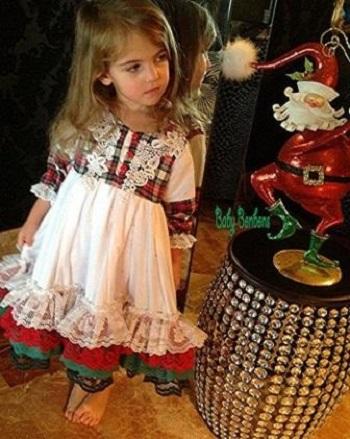 مدل لباس سفید کریسمس