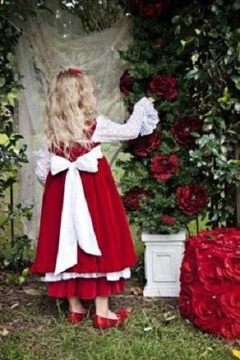 مدل لباس قرمز کریسمس
