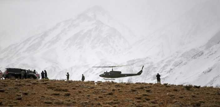 تصویر سقوط یک فروند هواپیمای نظامی در منطقه اردبیل + فیلم