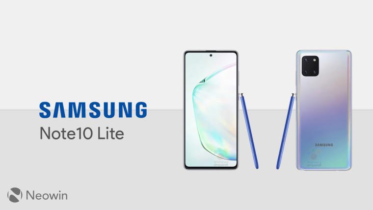 مشخصات کامل سامسونگ گلکسی نوت 10 لایت - Galaxy Note 10 Lite