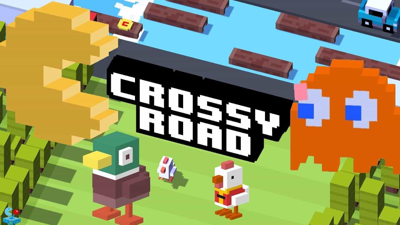 بازی جاده های پرخطر - Crossy Road