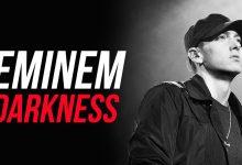 تصویر متن و ترجمه آهنگ Darkness از Eminem