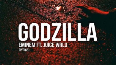 تصویر متن و ترجمه آهنگ Godzilla از Eminem و Juice Wrld
