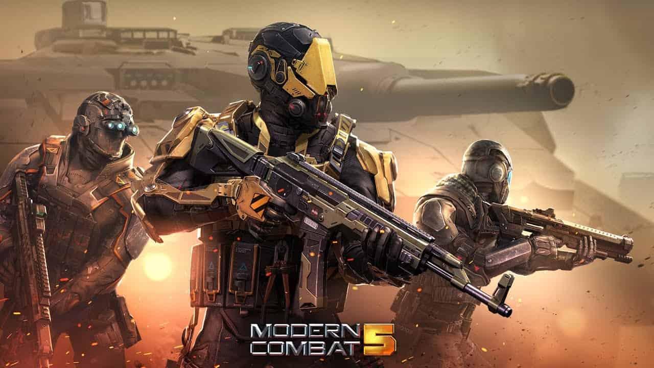 بازی مدرن کمبت ۵ - Modern Combat 5