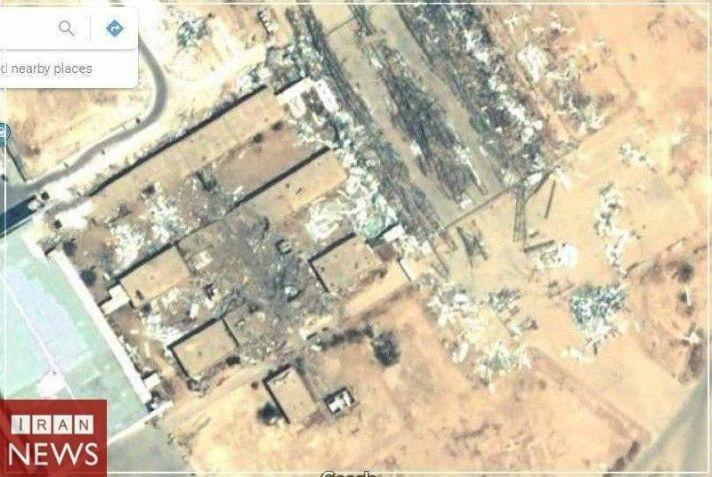 تصویر پایگاه سوخته عین الاسد