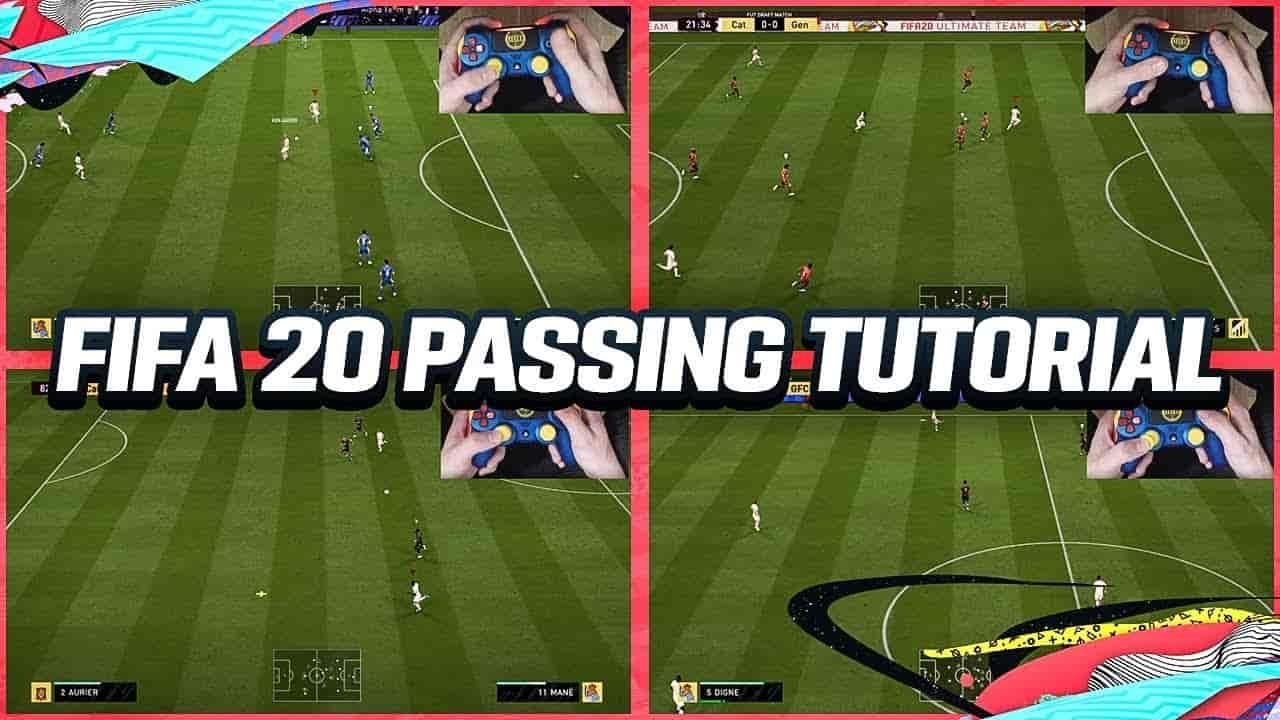 آموزش پاس کاری و انواع ارسال پاس در بازی FIFA 20