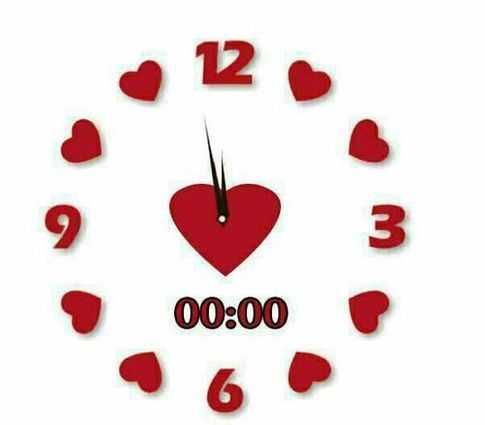 معنی ساعت های جفت عشق