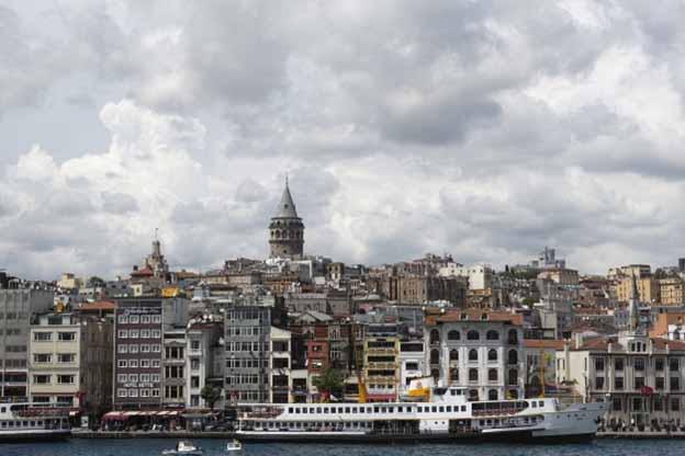 نمای شهر استانبول