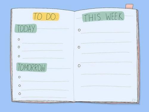 ساخت چک لیست انجام کارها