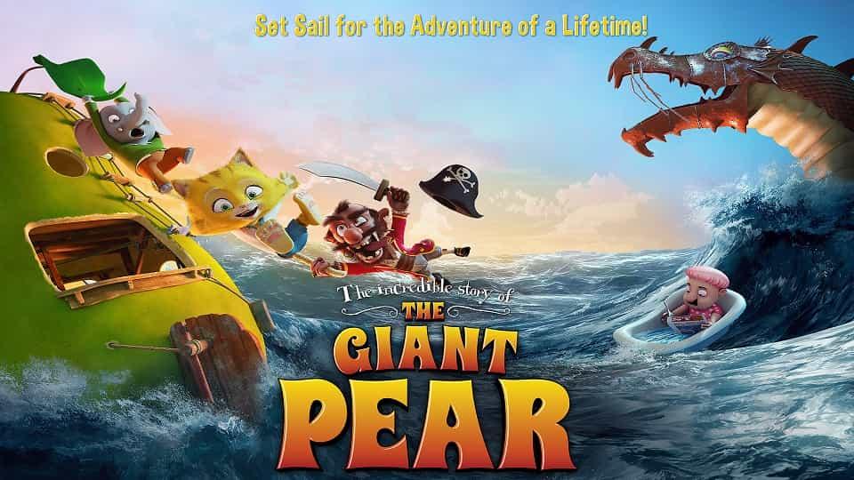دانلود انیمیشن گلابی غول پیکر دوبله فارسی - The Giant Pear