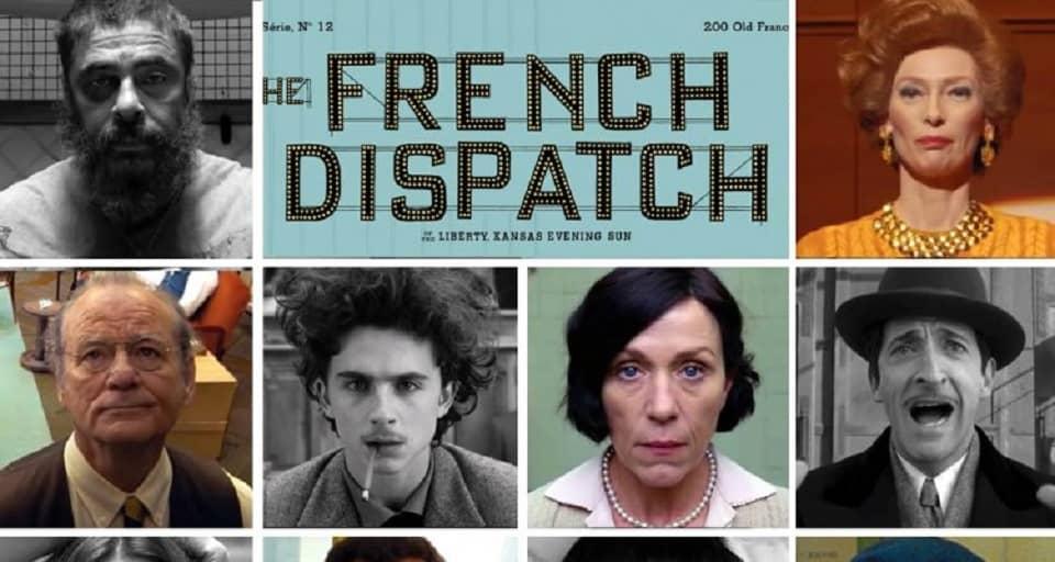فیلم The French Dispatch (گزارش فرانسوی)