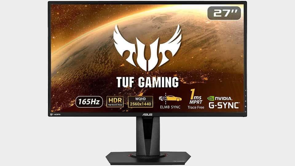 مانیتور گیمینگ ASUS TUF Gaming VG27AQ