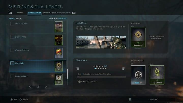 راهنمای چلنج Wound Recovery بازی Call of Duty Warzone