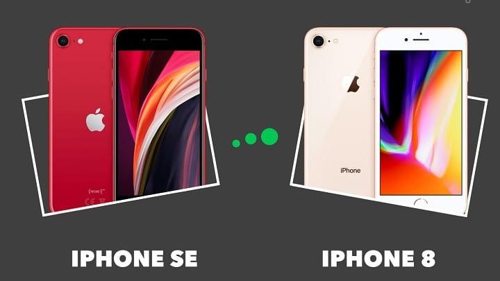 مقایسه آیفون SE 2020 با iPhone 8