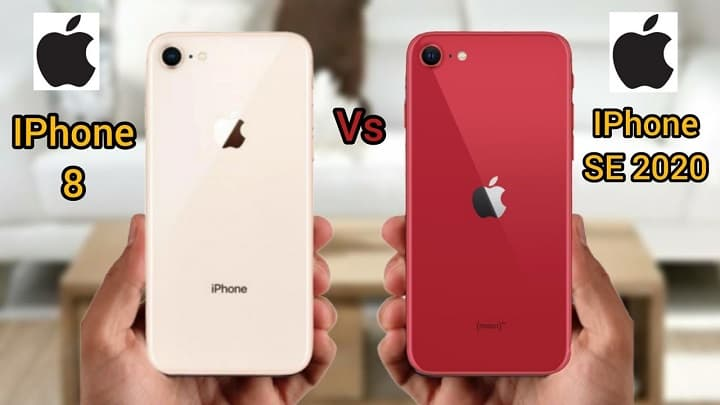 مقایسه iPhone SE 2020 با آیفون 8