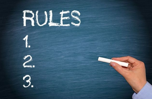قوانین اپلیکیشن مسابقه سبقت