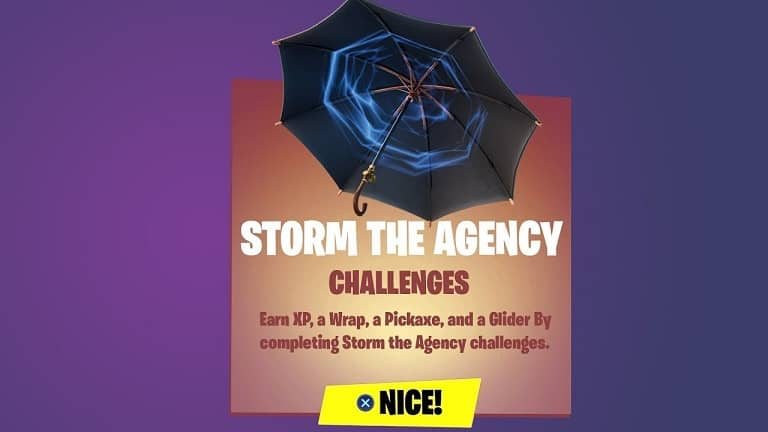 راهنمایی چلنج Storm The Agency بازی فورتنایت