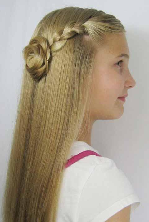 مدل موی دخترانه برای جشن