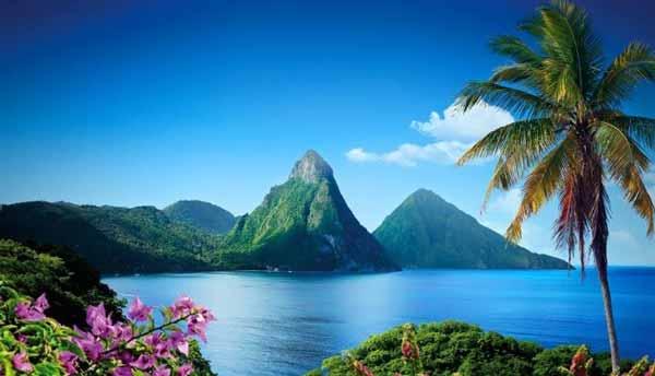 سنت لوسیا در کارائیب