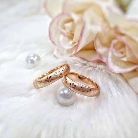 حلقه ازدواج ساده زیبا