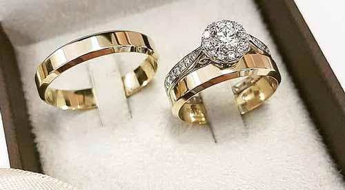 حلقه عروس داماد