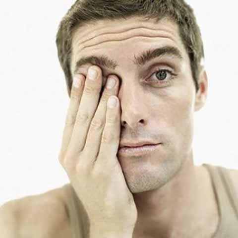 سندرم خستگی چشم