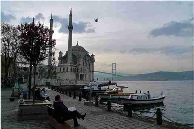 جاذبه های گردشگری استانبول : ببک و اورتاکوی