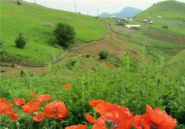 طبیعت زیبای روستای مجره