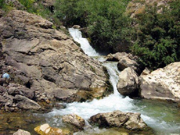 رودخانه فنا رود در روستای خوجین
