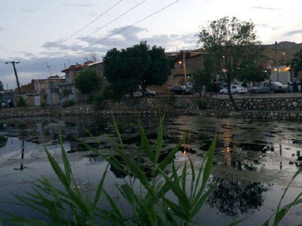 چشمه قرخ بلاغ در روستای کلی