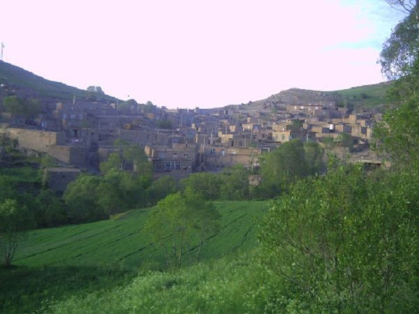 طبیعت زیبای روستای کلی