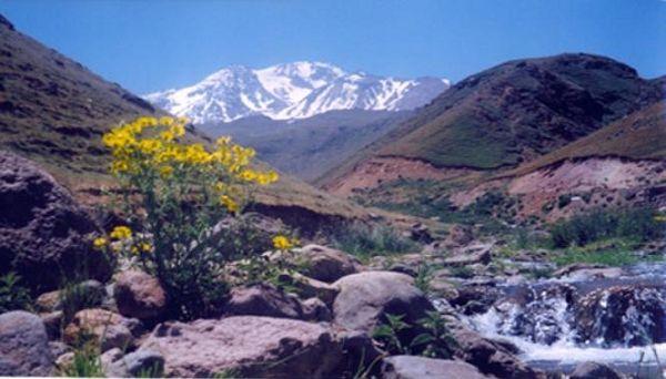 چشمه باش بولاغی در روستای وارث آباد