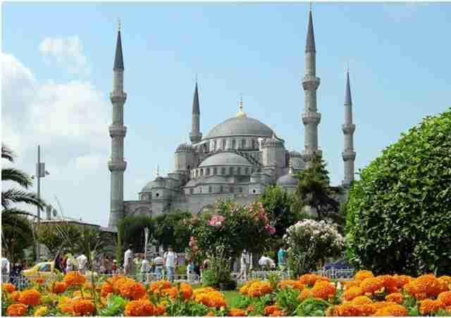 جاذبه های گردشگری استانبول : مسجد آبی