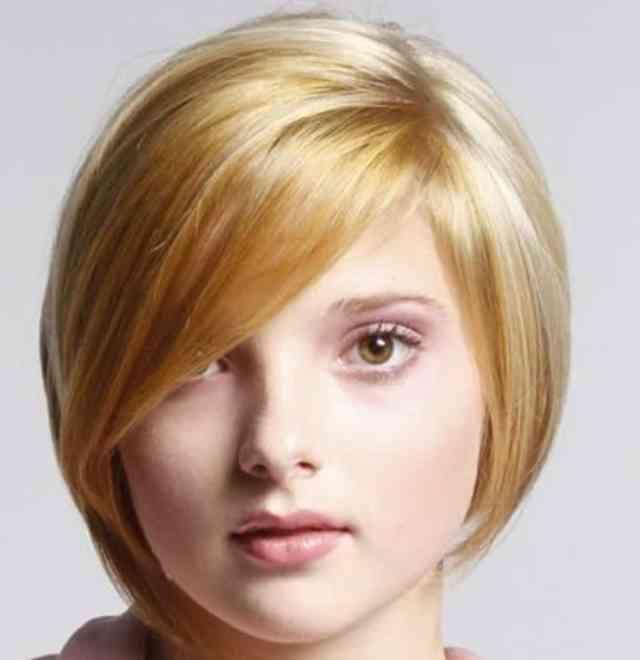مدل مو صورت گرد و تپل